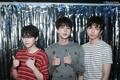 Jin, Suga and RM - jin-bts photo