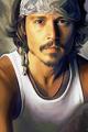 Johnny Depp  - yorkshire_rose fan art