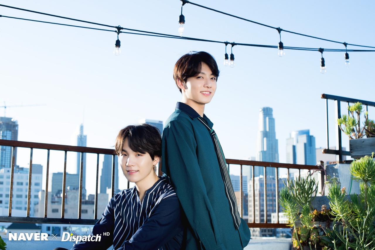 Jungkook and Suga