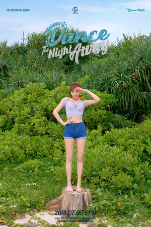 Jungyeon's teaser image for 'Dance the Night Away'
