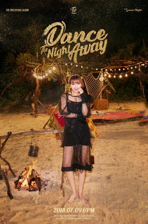 Jungyeon teaser image for 'Dance the Night Away'