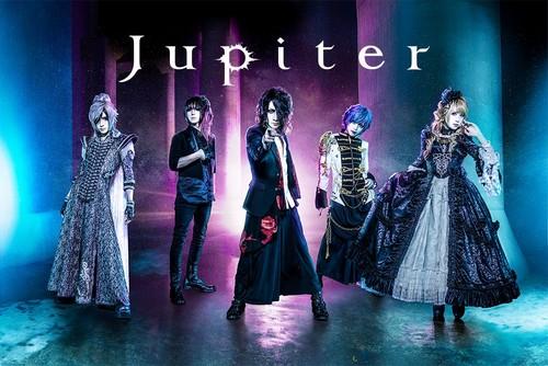 Jupiter (Band) achtergrond titled Jupiter