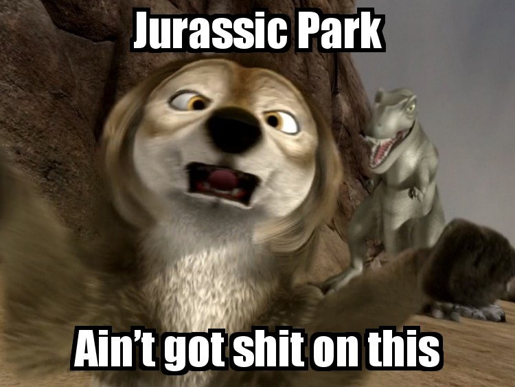 Jurassic Park is shit compared to this!
