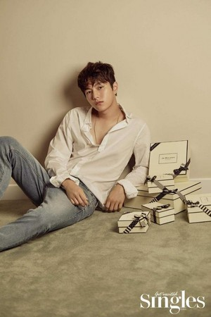 """KIM MYUNG SOO (""""L"""") FOR JULY 2018 SINGLES"""