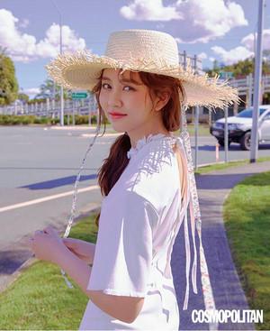 KIM SO HYUN LOOKS SUPER CUTE IN JULY 2018 COSMO