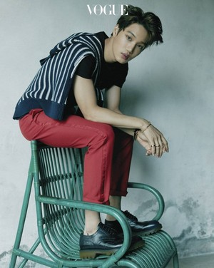 Kai Vogue Magazine December Issue 17
