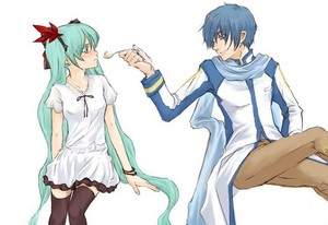 Kaito and Miku (World is Mine)