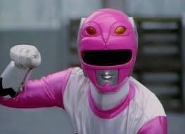 Karone Morphed As The Sekunde rosa Galaxy Ranger
