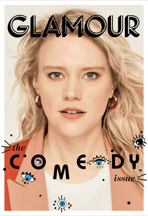 Kate McKinnon - Glamour Cover - 2018
