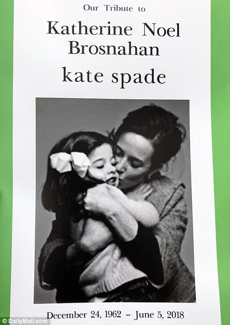 Celebrities who died young images Kate Spade 2018 Funeral Program wallpaper and background photos