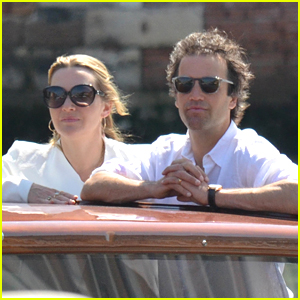 Kate and her husband Ned in Venice