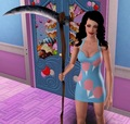 Katy Perry as the Grim Reaper - the-sims-3 photo