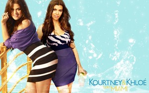 Khloe and Kourtney achtergrond