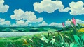 Kiki's Delivery Service Background Art - hayao-miyazaki photo