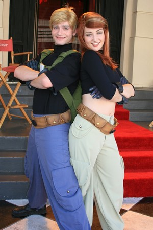 Kim Possible and Ron Stoppable (formerly meetable)