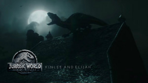 Kinlee And Elijah Jurassic World: Fallen Kingdom Promotion