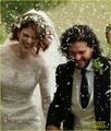 Kit Harington and Rose Leslie Are Married - game-of-thrones photo