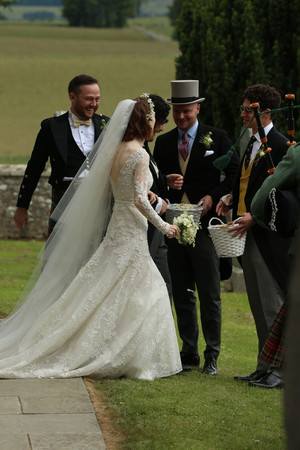 Kit Harington and Rose Leslie Wedding Picture