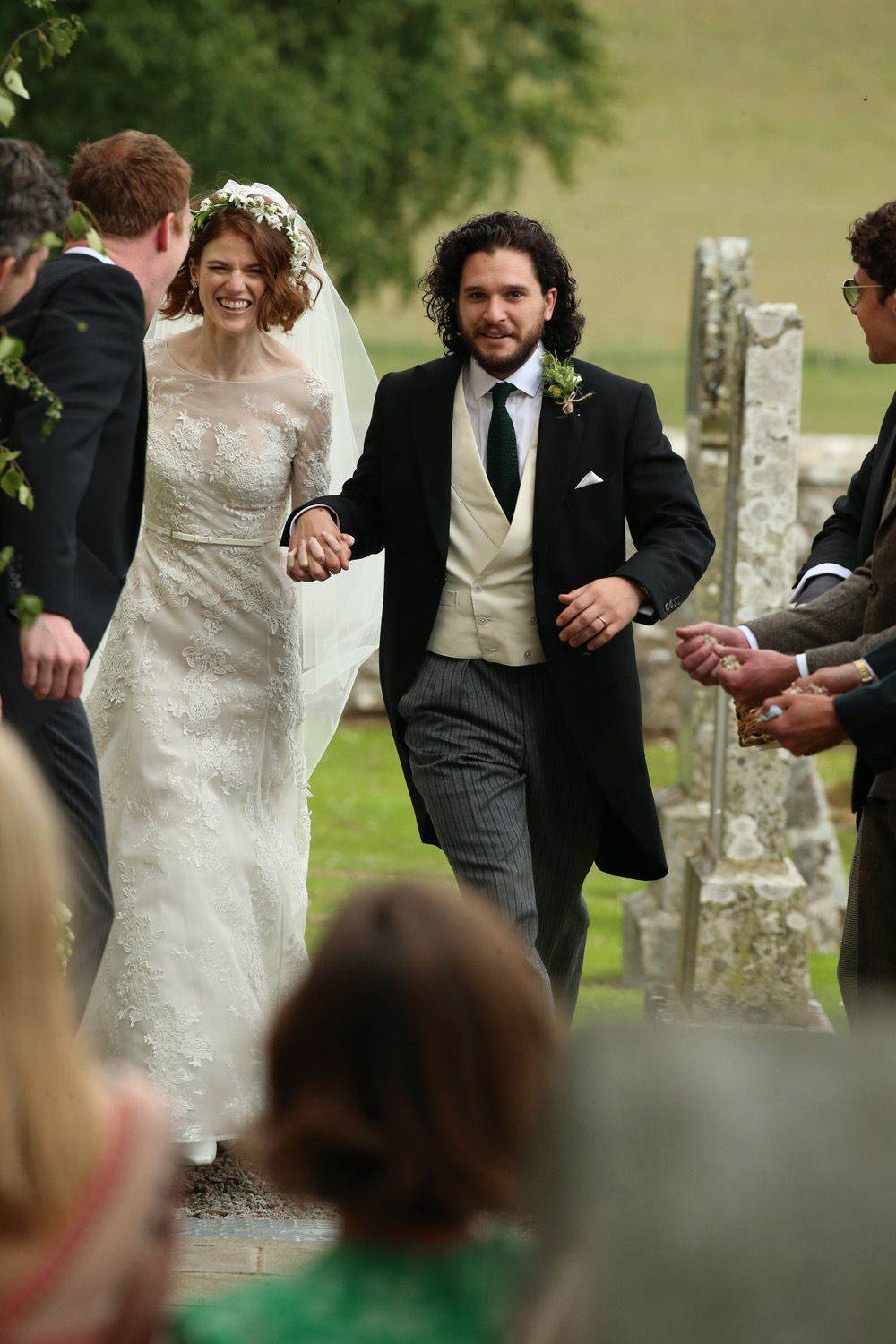 Kit Harington Bilder Kit Harington And Rose Leslie Wedding Picture