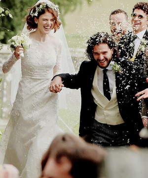 Kit Harington and Rose Leslie wedding ♥