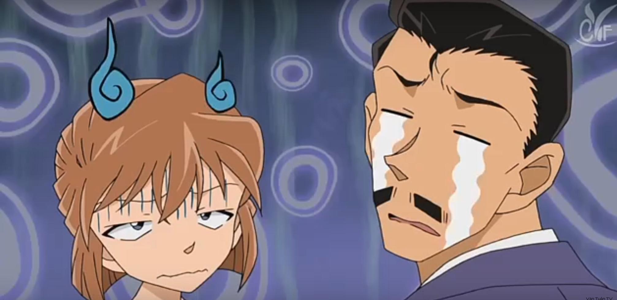 Kogoro and Haibara