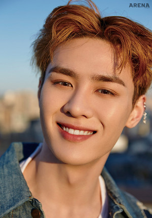 Kun (NCT) Arena Homme Plus Magazine May Issue 18