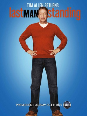 Last Man Standing Poster - Season 1