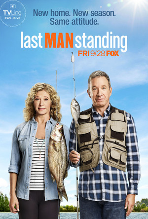 Last Man Standing Poster - Season 7 - New home. New season. Same attitude.