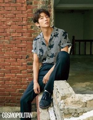 Lee JoonGi Cosmopolitan Korea for the August Issue 2018