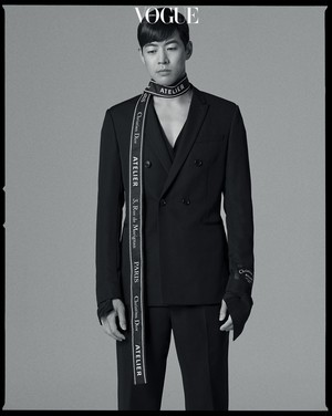 Lee Sang Yoon Vogue Magazine July Issue 18