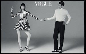 Lee Sung Kyung and Lee Sang Yoon - Vogue Magazine July Issue '18