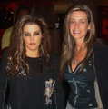 Lisa with a fan - lisa-marie-presley photo