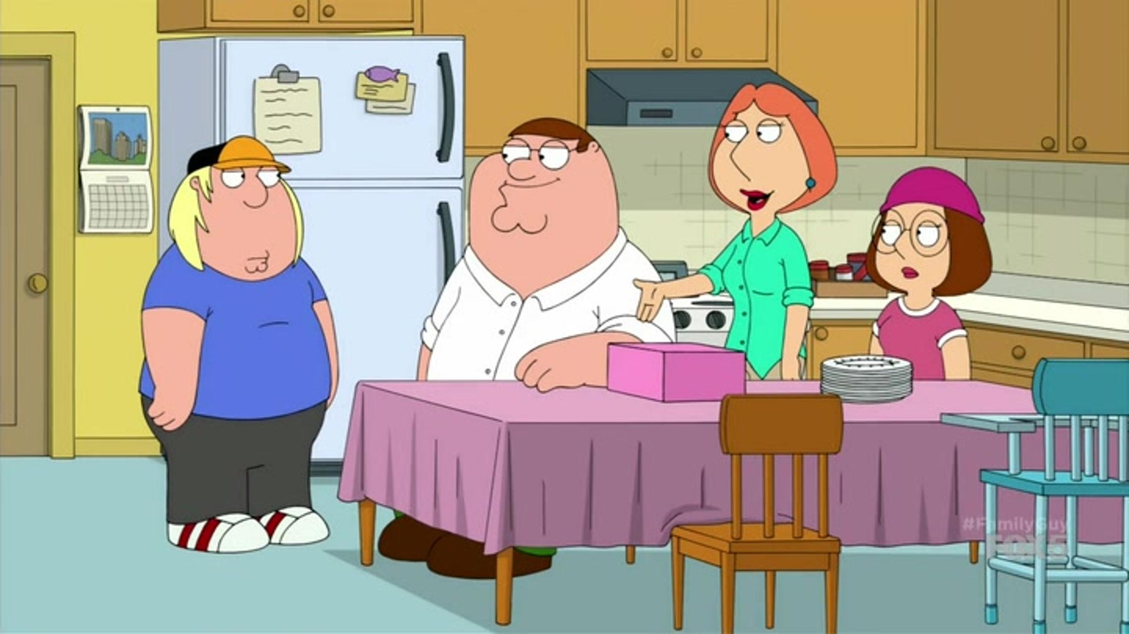 Lois  Peter  Meg and Chris