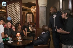 Luke Cage Season 2 Behind the Scenes Picture