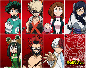 MHA Wallpaper (Computer ver.)