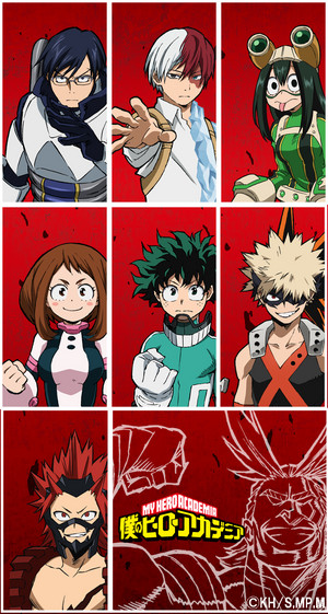 MHA wallpaper (Phone ver.)
