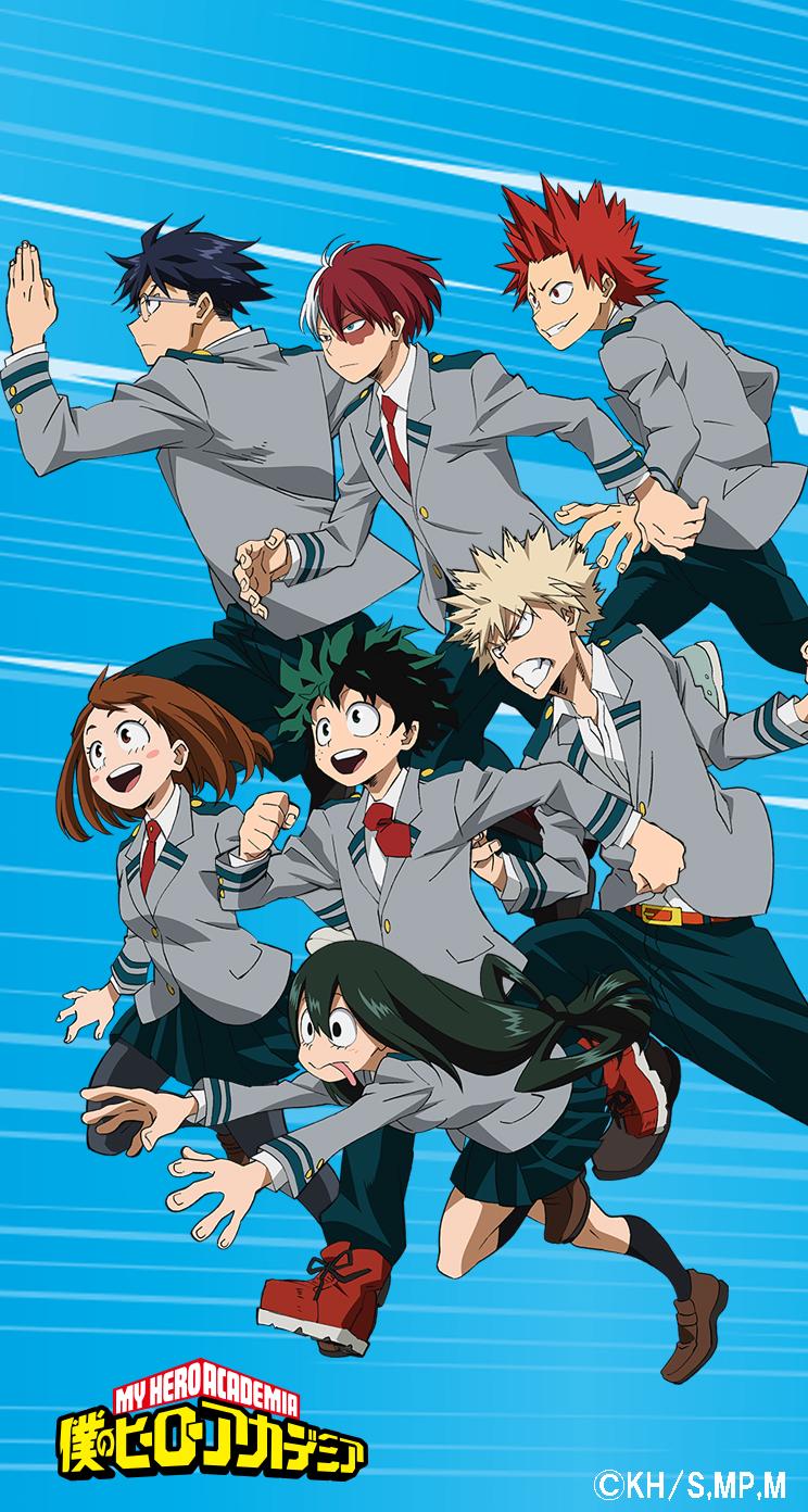 Mha Fond D Ecran Phone Ver Anime Fond D Ecran 41412543 Fanpop