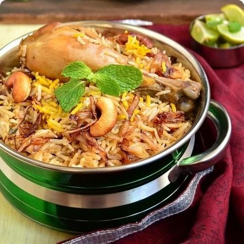 Indian Food wallpaper called Malabar Biriyani Thalasseri Biriyani