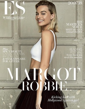 Margot Robbie - ES Magazine Cover - 2018