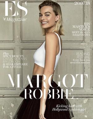 Margot Robbie - ES Magazine Cover - 2018