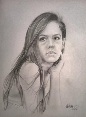 Martina Garcia fan Art
