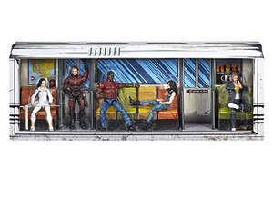 Marvel Legends Series Defenders Rail Authority 5-Pack