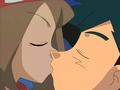 May x Ash Kiss - pokemon photo