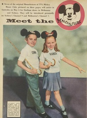 Meet The Mouseketeer Promo Ad