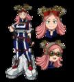 Mei Hatsume Full body Anime