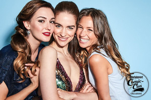 Melanie Scrofano and the Wynonna Earp Cast at San Diego Comic Con 2018 - EW Portrait