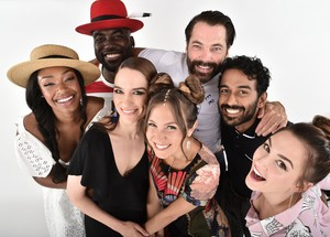 Melanie Scrofano and the Wynonna Earp Cast at San Diego Comic Con 2018 - Portrait