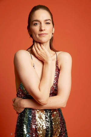 Melanie Scrofano at San Diego Comic Con 2018 - Pizza Hut Portrait