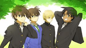 Men in Detective Conan