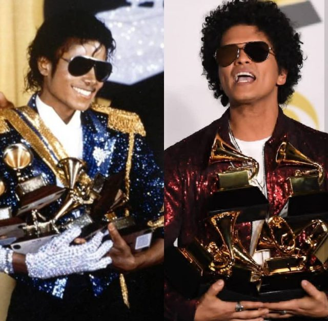 Michael And Bruno Mars